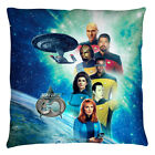 Star Trek Next Generation 30th Anniversary CREW Printed Throw Pillow Many Sizes on eBay