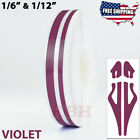 "1/2"" Roll Vinyl Pinstriping Pin Stripe Double Line Car Tape Decal Stickers 12mm"