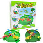 New Frog Frenzy Board Game Children Kids Toy Game Crocodile Hungry Frogs Hippos