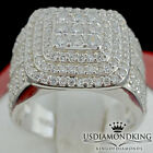 Ladies Women Thick Bold 19mm .925 Sterling Silver Wedding Anniversary Ring Band