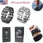 New Multi Tool LEATHERMAN TREAD Stainless Steel Bracelet  Sliver or Black