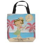 Betty Boop HULA BOOP Grass Skirt Palm Trees Tote Bag Many Sizes $26.43 USD on eBay