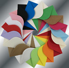 """C5 (162x229mm 6.5x9"""") Coloured Envelopes Crafts Greeting Cards Party Invitations"""