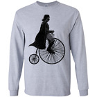 Rollin' with The Dark Side Funny Graphic Screen Ultra Cotton Long Sleeves