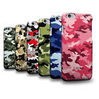 Personalised Name Army Camo Camouflage Pattern 3D Skin for Samsung Huawei Nokia