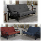 Full Size Futon Mattress 6 Bed Cotton Polyester Bedroom Twill Color Foam Sleep