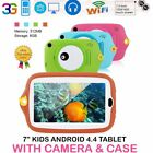 7 inch Tablet 8GB 0.3MP Camera Android 4.4 Kids Tablet With Silicone Cover XO
