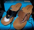 WOMEN'S ARIZONA CARMEN WEDGED SANDALS MULTIPLE COLORS NEW IN BOX MSRP$47.00
