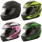 Fly Racing Conquest Retro Helmet - Choose Color & Size