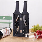 5 Pcs/Set Red Wine Bottle Opener Accessories Gift W/ Corkscrew, Pourer & Stopper