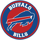 Buffalo Bills Circle Logo Vinyl Decal / Sticker 5 sizes!!