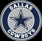 Dallas Cowboys Circle Logo Vinyl Decal / Sticker 5 sizes!!