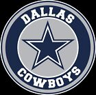 Dallas Cowboys Circle Logo Vinyl Decal / Sticker 10 sizes!! $5.99 USD on eBay