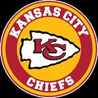 Kansas City Chiefs Circle Logo Vinyl Decal / Sticker 10 sizes!! $3.99 USD on eBay