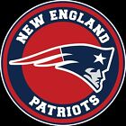 New England Patriots Circle Logo Vinyl Decal / Sticker 5 sizes!!