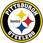 Pittsburgh Steelers Circle Logo Vinyl Decal / Sticker 10 sizes!! $3.99 USD on eBay