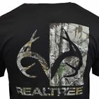 Mens Tee T Shirt S M L XL 2XL Camo Hunting Sleeve Deer Logo American Black NEW image
