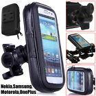 Bicycle Motor Bike Handle Bar Holder WaterProof Rain Case Cover For Mobile Phone