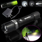 5000LM Police Outdoor Camping LED Rechargeable Flashlight +18650+Charger kit