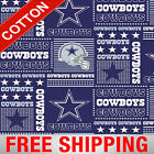 "Dallas Cowboys NFL Cotton Fabric - 60"" Wide - Style# 6424 - Free Shipping!! $15.95 USD on eBay"