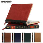 MOSISO  Leather Laptop Zipper Sleeve Cover Case for Macbook Air 13 Pro Touch bar