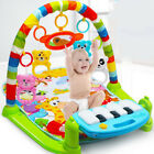 Baby Kids Animal Printed Playmat Musical Pedal Piano Activity Fitness Gym Mat