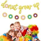 Donut Grow Up Kids Birthday Party Decorations Supplies Paper