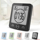 Wall Mounted Digital Shower Clock Humidity Bathroom Clock for Kitchen Shower BH