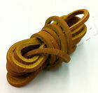 """1 PAIR - 72"""" Rawhide Leather Shoelaces Moccasin Strings Boat Shoe Boot Laces"""