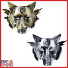 Costume Full Face Wolf Predator Mask Cosplay Masquerade Halloween Party USA Lot
