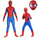 2018 New Design Homecoming Spiderman Costume Tights Suit for Kids or Adult