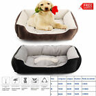 Pet Bed Cushion Dog Cat Basket Lounger Warm Mat Pad Bed Extra Large Beige S/M/L