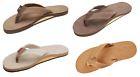 Rainbow Sandals Mens Single Layer Premier Leather with Arch Support