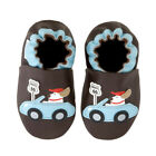 NEW Little Steps road route 66 doggie soft sole leather shoes 0-6m