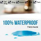 WATERPROOF MATTRESS COVER Hypoallergenic Bed Pad Protector King Queen Full Twin~ image