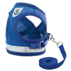 Soft Pet Puppy Control Harness For Dog Cat Mesh Walk Collar With Leash Lead