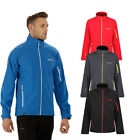 Regatta Nielson IV Mens Lightweight Water Repellent Wind Resistant Softshell