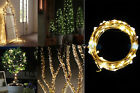 100 LEDS Christmas Lights Copper Mini LED String Light Home Xmas Decor Battery