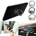 Universal 360° Finger Ring Stand Car Magnetic Metal Plate Phone Holder Mount