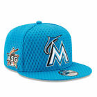 Miami Marlins Home Run Derby 2017 5950 New Era Blue Fitted Cap Hat Authentic New on Ebay