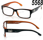 f1a4626287c New DG Eyewear Clear Lens Eye Glasses Fashion Frame Square Men Women  Optical RX