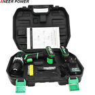 ANEERPOWER® 25V Plus Cordless Drill Electric Drill Electric 2Battery Screwdriver