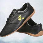 Cow Leather Kung fu Tai chi Shoes Martial arts Wushu Sports Sneakers US 6.5-11.5