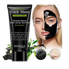 Blackhead Removal Bamboo Charcoal Peel Off Face Mask Deep Cleaning Nose Care--