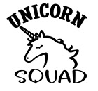 Unicorn Squad Vinyl Decal Sticker Home Wall Cup Decor Choose