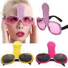 Внешний вид - Funny Penis Sunglasses Bachelorette Party Glasses Hen Party Willy Decoration