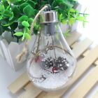 LED Clear Ball Christmas Tree Fence Hanging Ball Light Party Wedding Home Decor