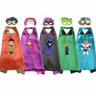 teen titans costume capes with masks girls