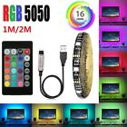 Kyпить LED TV USB Backlight Kit Computer RGB LED Light Strip TV Background Lights 1M/2M на еВаy.соm