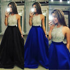 USA Women Formal Prom Cocktail Party Ball Gown Evening Bridesmaid Long Dresses